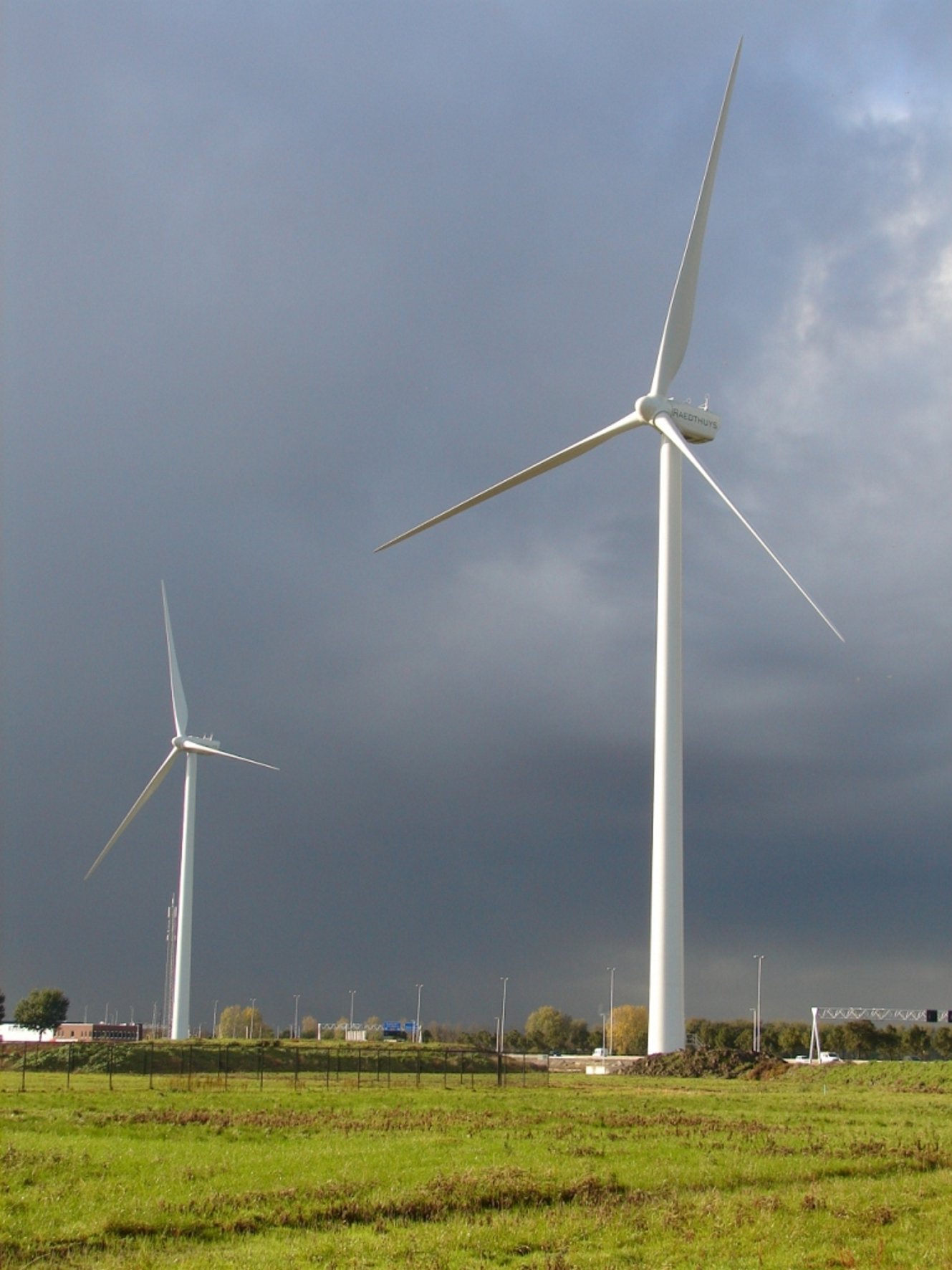 Windpark Distripark in Waddinxveen